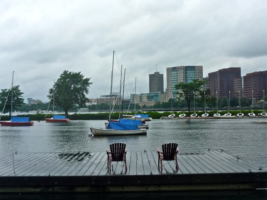 The Charles River in Boston MA