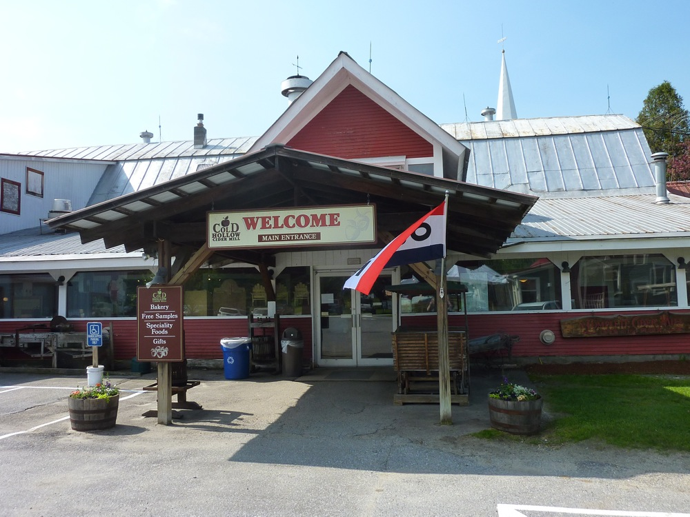 Cold Hollow Cider Mill in Waterbury, Vermont.
