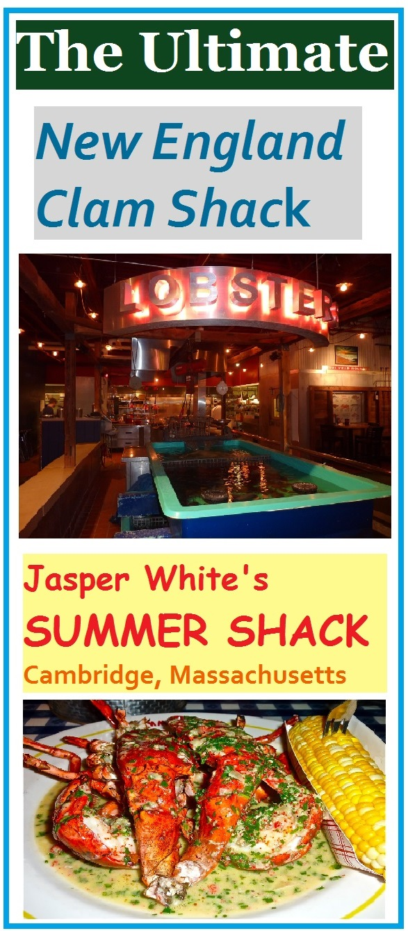 Jasper White's Summer Shack in Cambridge, Mass., is a seafood lover's dream come true with amazing traditional New England clam shack cuisine in a fun, family-friendly setting that is open year-round.