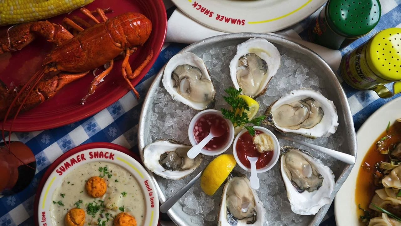 New England Clambake from Summer Shack in Cambridge, Mass.