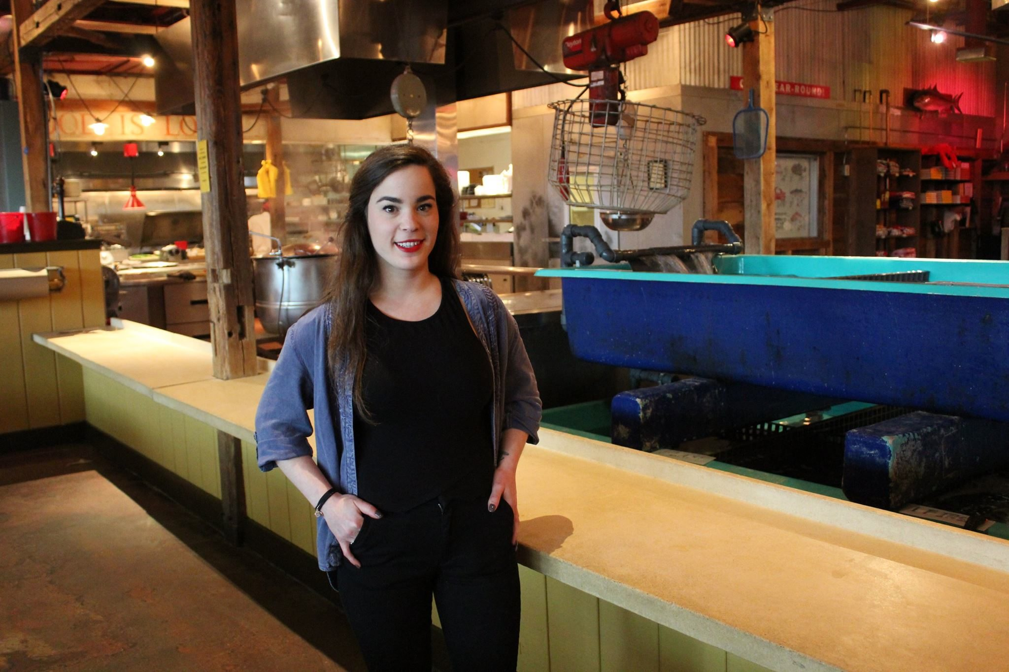 Vanessa Bitton, general manager at Summer Shack, loves her job at the famous Cambridge, Mass. restaurant.