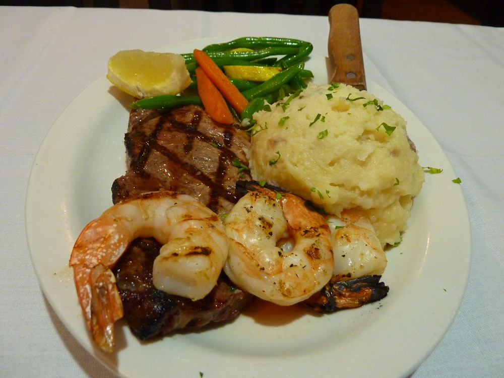 Surf and Turf from Rosetta's Italian Restaurant, Canton, MA