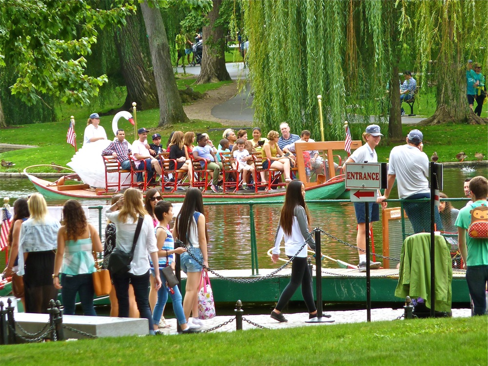 Swan Boats of Boston, Massachusetts