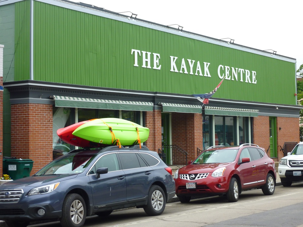The Kayak Centre in Wickford Village, Rhode Island