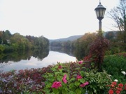 Bridge of Flowers photo, Shelburne Falls, MA