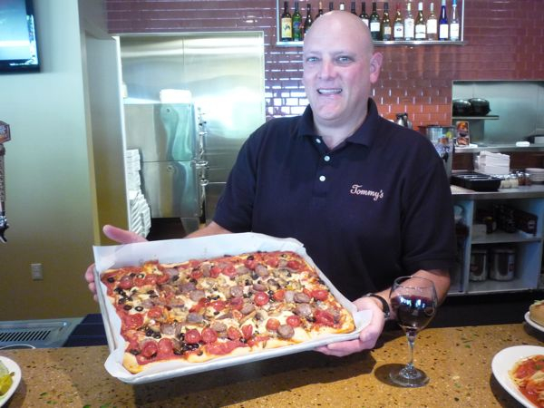 Tom Sacco Of Tommy S Pizza In Cranston Ri