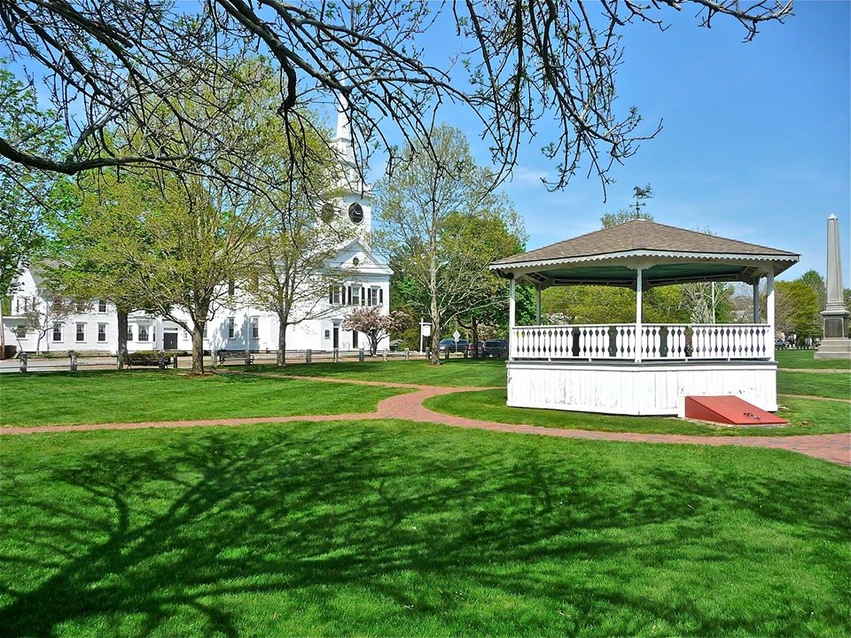 Eric Hurwitz, a local author, has written a book on the best historic town greens in Massachusetts.