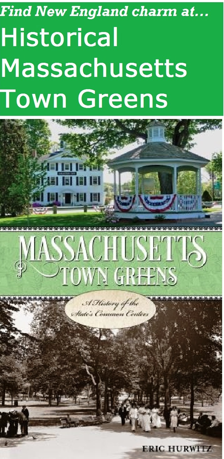 The Massachusetts Town Greens book covers the history of 70 towns greens in the state, as well as current events going on there now like fairs, festivals, concerts, celebrations, and ceremonies. A must for family travel!