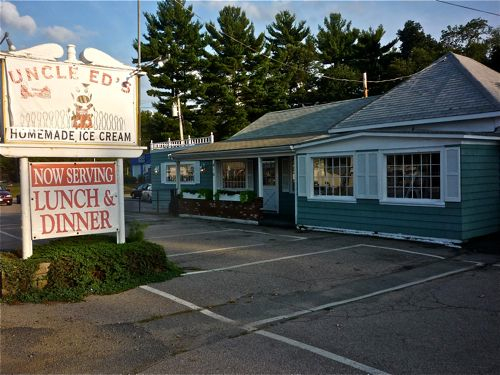 Uncle Ed's Back Porch Ice Cream in Norton MA