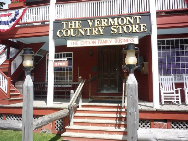 Vermont Country Store front porch, Weston VT