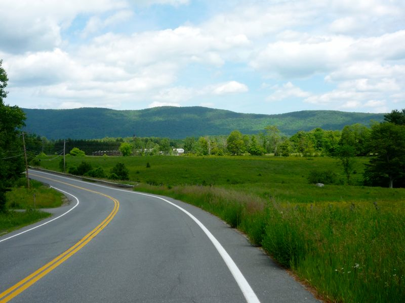 Picture of Route 100 between Jamaica and Londonderry Vermont