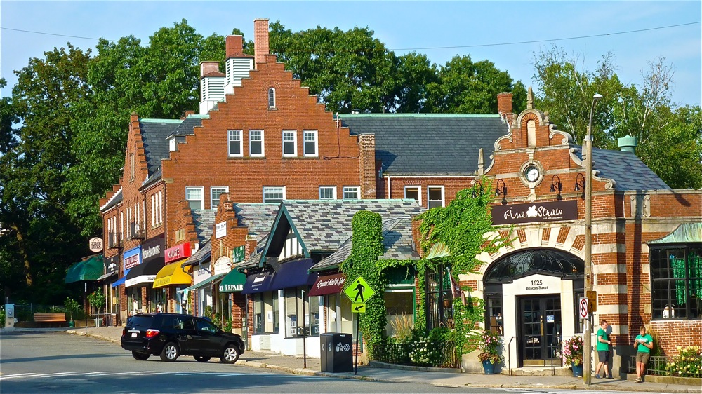 Waban is a charming village in Newton, Massachusetts.