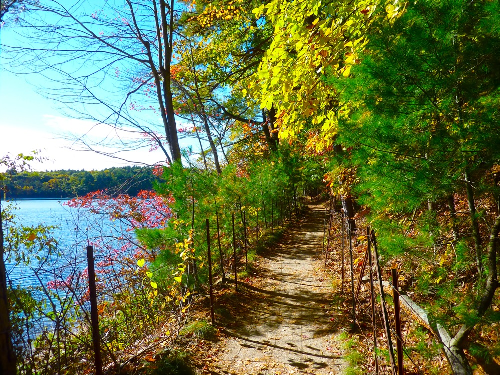 Enjoy these six scenic walks not too far from Boston.