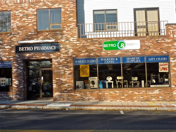 Betro Pharmacy, Walpole MA