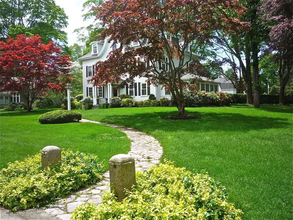 Grand home on Common St. in Walpole MA