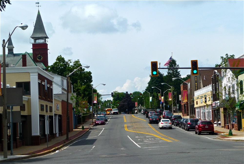 Downtown Walpole, Massachusetts