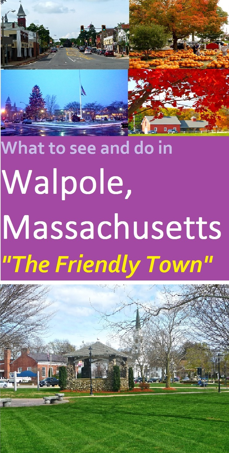 Walpole, Massachusetts has plenty of small town charm, scenic open spaces, and locally-owned stores and restaurants just 18 miles southwest of Boston.