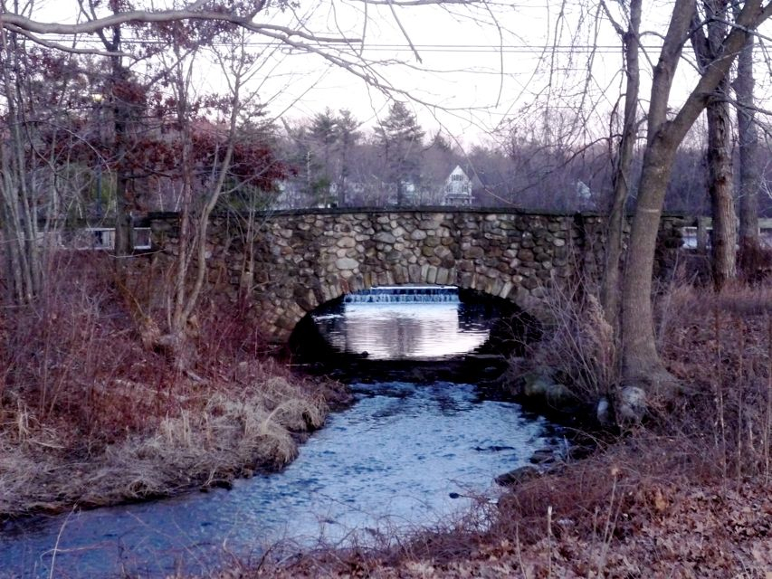 Walpole MA School Street Bridge