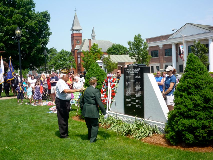 Photo of Memorial Day Observance, Walpole Town Common, Walpole MA