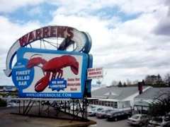 Warren's Lobster House, Kittery Maine