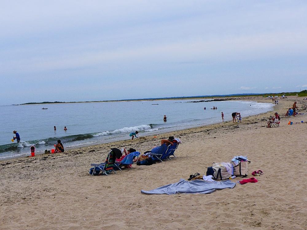 Carousel Beach in Watch Hill, R.I.