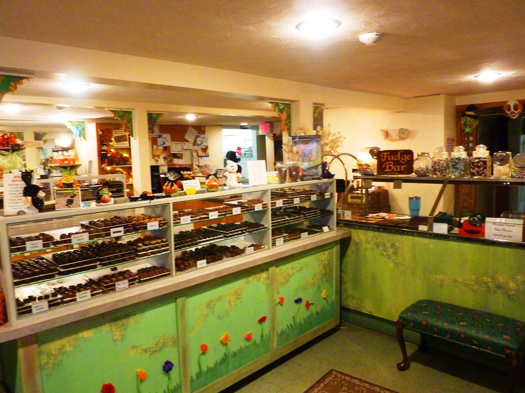 Visiting Watson's Candies, an old-fashioned candy house in Walpole, Mass.