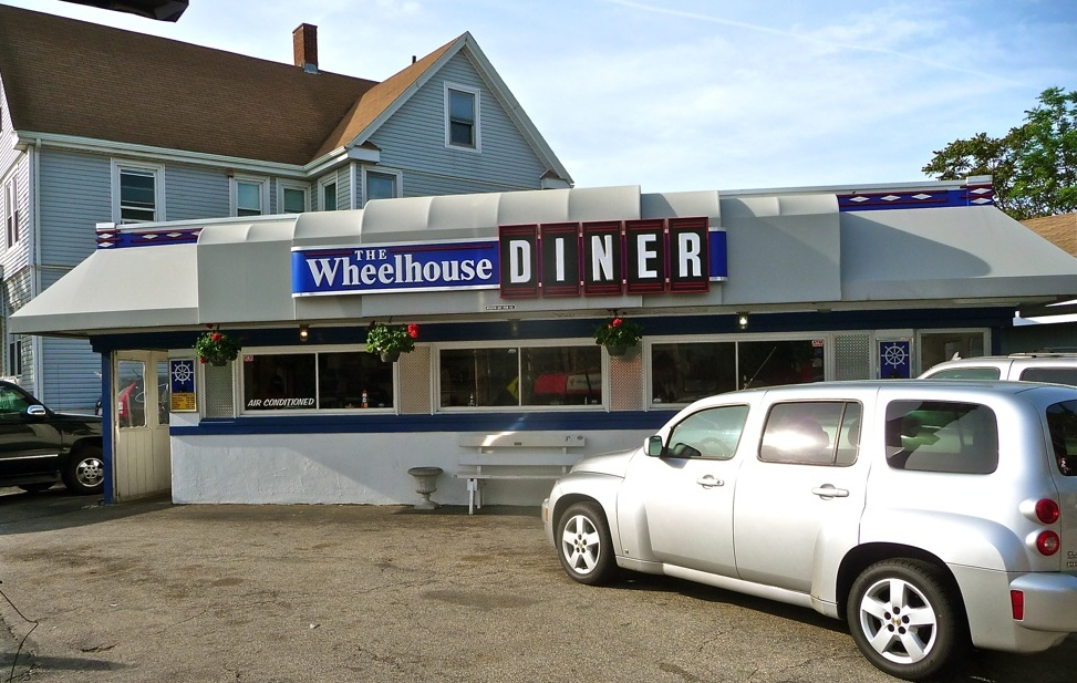 Classic New England diner: Wheelhouse Diner, Quincy, Massachusetts