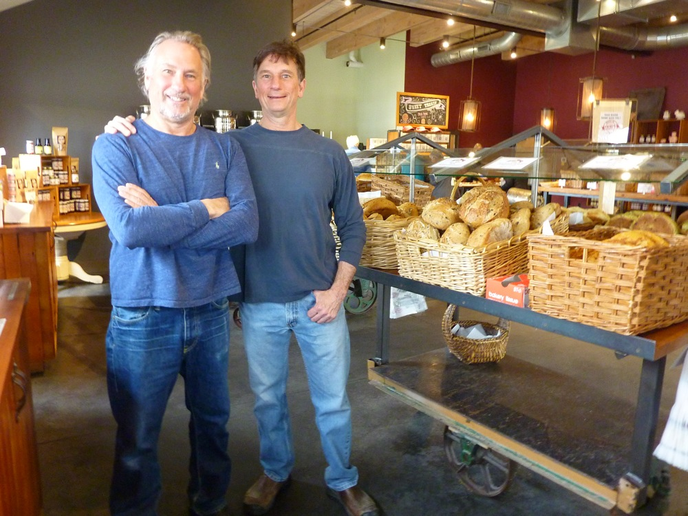 Brothers Ron and Andrew Siegel own When Pigs Fly Bakery in Kittery, Maine.