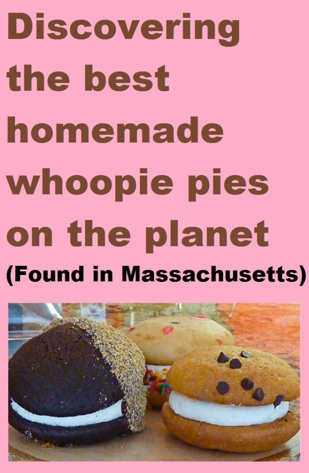 We found the best homemade whoopie pies on the planet in a small, unassuming storefront in the tiny town of Tospfield, Mass.