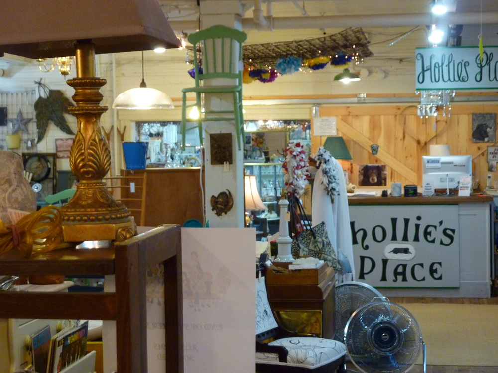 Hollie's Place at the Winsmith Mill Market in Norwood, mass.