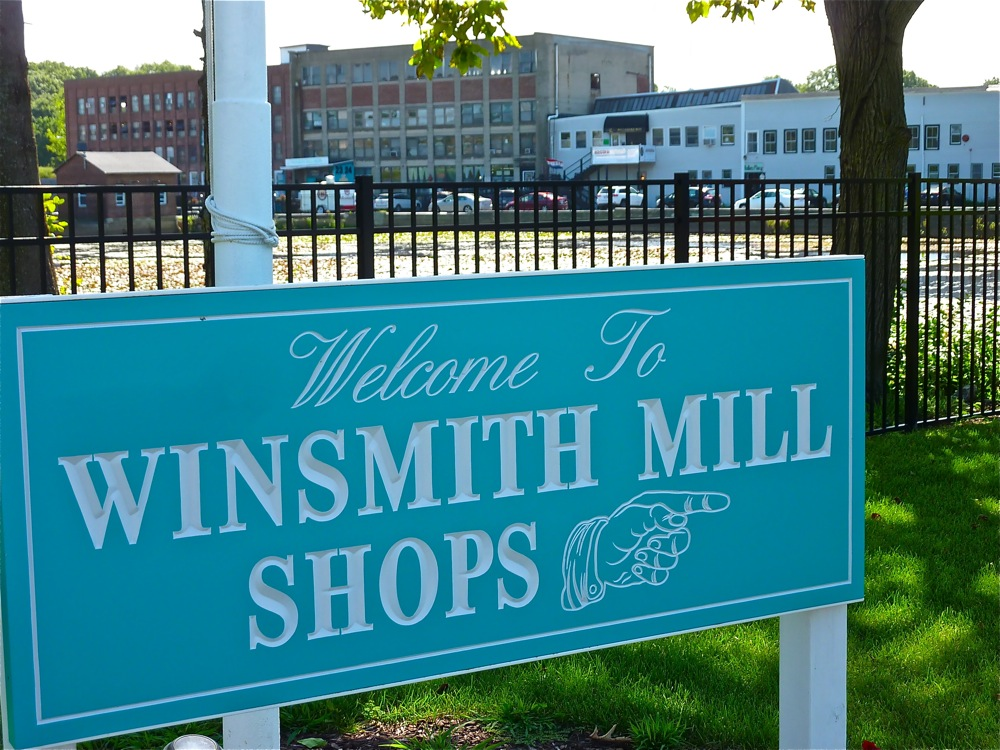 Winsmith Mill Market features seven vintage shops with more than 100 vendors at the Norwood Commerce Center in Norwood, Mass.
