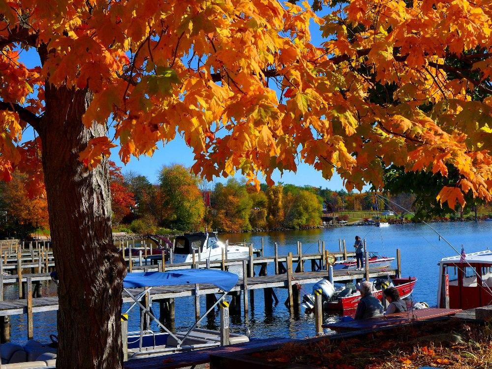 Lake views in downtown Wolfeboro, NH