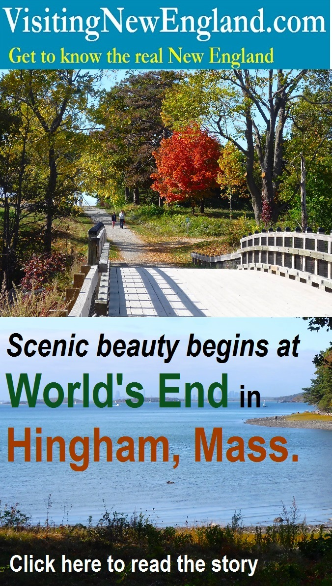 This natural oasis south of Boston offers one of the most scenic walks in all of New England.