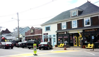 Downtown Wrentham, MA, photo