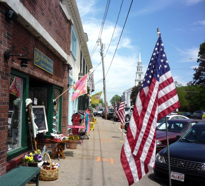 Downtown Wrentham, MA photo