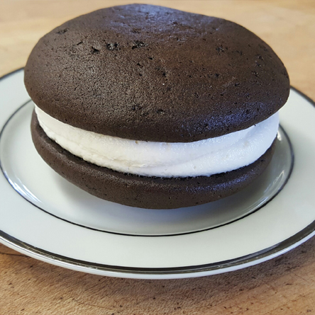 Vegan whoopie pie from The Whoo(pie) Wagon in Topsfield, Mass.