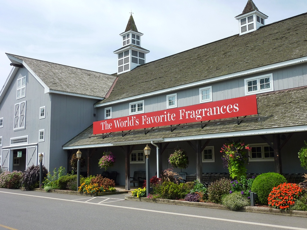 Yankee Candle Flagship Store in Deerfield, Massachusetts