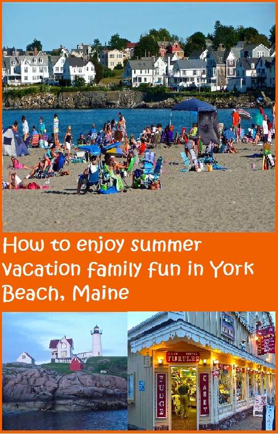 Enjoy these York Beach, Maine summer vacation family travel tips.