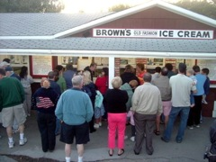 Brown's Ice Cream, York, Beach, Maine
