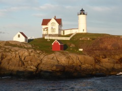 Nubble Lighthouse photo, York Beach, Maine